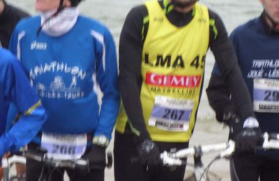 La palme du week-end au LMA TRIATHLON 45