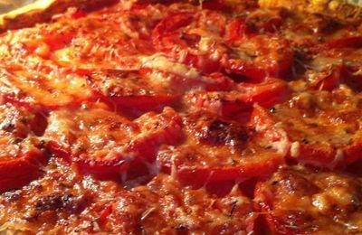 Tarte à la tomate Coeur de boeuf