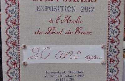 3ème Festival de la Broderie à Dole (39) - 20 et 21 mai 2017 ✄ 8/18 ✄