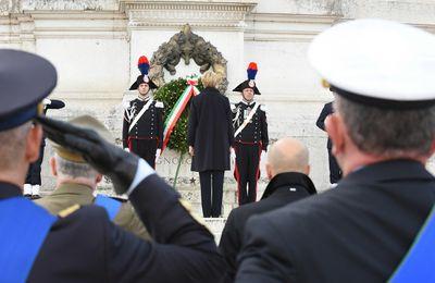 """Roma:Forze Armate commemorano""""Giornata del Ricordo dei Caduti in missioni internazionali"""""""