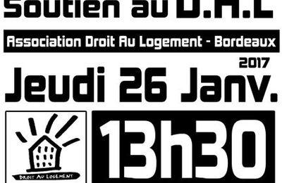 [Bordeaux - 26 janvier] Rassemblement - Procès en appel du D.A.L33