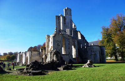 L'abbaye royale de Chaalis à Fontaine-Chaalis près d'Hermenonville