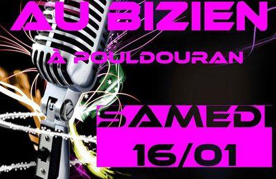 POULDOURAN : Super soirée Karaoké au Bar Le Bizien le 16 Janvier 2016