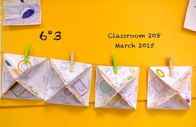 6° : OUR 3D (paper) HOUSES