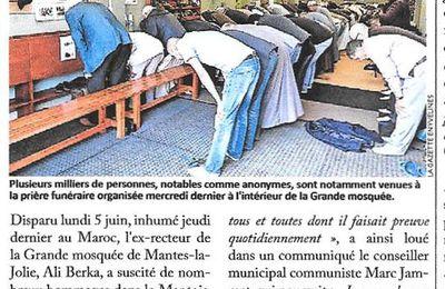 La Gazette des Yvelines. Mantes-la-Jolie. Plusieurs milliers de prières pour l'ex-recteur de la mosquée