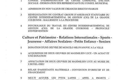 Mantes-la-Jolie. Conseil municipal lundi prochain 25 septembre
