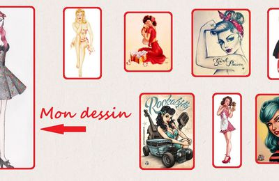 Pin Up rockabili
