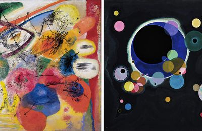 "Kandinsky ""Several circles"" reédition en velours"