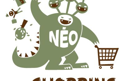 AFFICHE Néo the Shopping-Monster