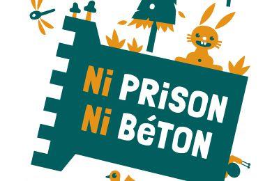 AFFICHE Ni prison Ni béton - Keelbeek libre !