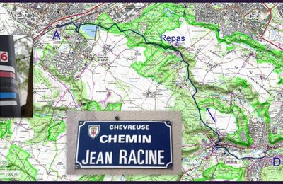 Sur les pas de Jean Racine de Saint-Rémy-lès-Chevreuse à La Verrière