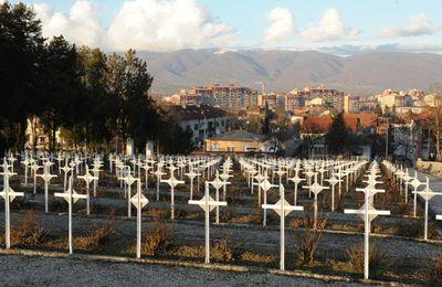 Les cimetières militaires français en Macédoine.