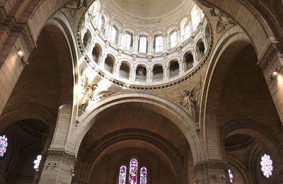 Basilique Sacré Coeur - le Dôme - 18eme