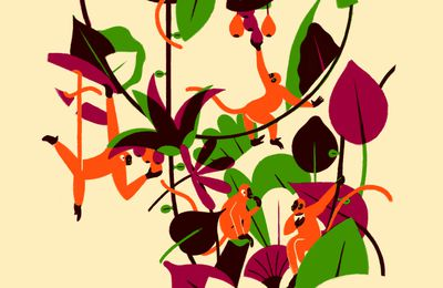 Singes par Vincent Berthou