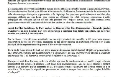 Arrêté Beschizza : le communiqué des Élus socialistes et républicains, du Parti radical de Gauche et des  Élus Communistes  – Front de gauche