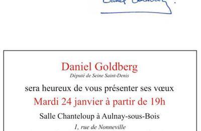 Ce soir à Chanteloup, les voeux de votre député, Daniel Goldberg