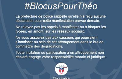 La préfecture de Police met en garde les lycéens contre le mouvement des blocages