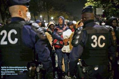 La France se prépare à expulser plus de migrants