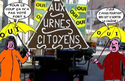 CHARMOY-CITY : SANS CALÈCHE, ÇA CALANCHE DANS LES URNES, CITOYENS ! - du 20 Juin 2017 (J+3107 après le vote négatif fondateur)