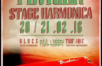 Stage d'harmonica diatonique à Malzéville (54) - 20 et 21 février 2016