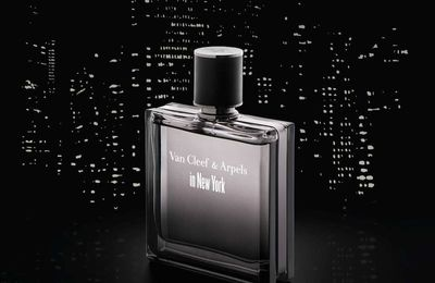 Packaging : Nouveau flacon parfum masculin Van Cleef & Arpels in New York