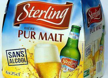 Grande distribution : Auchan sort une nouvelle bière sans alcool, Sterling Pur Malt