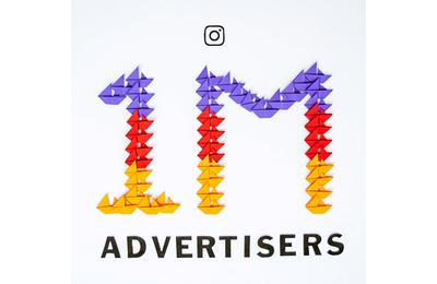 Média : 1 million d'annonceurs actifs sur Intagram chaque mois