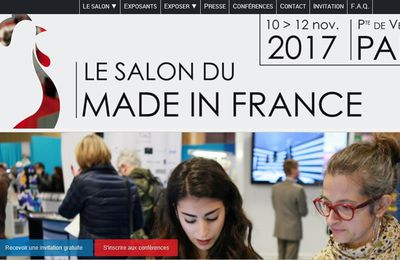 Salon du MADE IN FRANCE 2017, demandez votre badge dès maintenant