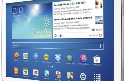 Mobile : Chute du marché de la tablette tactile dans le monde