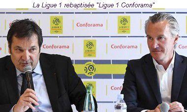 """Naming sportif : La Ligue 1 de football devient la """"Ligue 1 Conforama"""" dès la prochaine saison"""