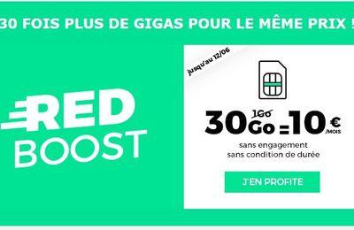 Opérateur Mobile : RED SFR casse encore les prix sur les forfaits avec 30 Go pour 10 euros