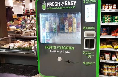 Grande distribution : Machines à smoothies en test chez Carrefour