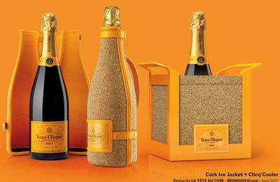 Packaging : Veuve Clicquot Ponsardin lance sa nouvelle Cork Ice Jacket
