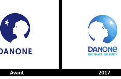 Branding : Nouveau logo pour DANONE super écolo