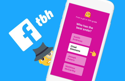 Web / Mobile : Facebook rachète l'application mobile TBH, 3 mois après son apparition