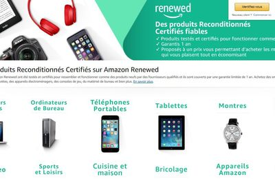Ecommerce : Amazon Renewed, boutique dédiée aux articles reconditionnés