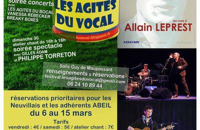 Philippe Torreton à La Neuville Chant d'Oisel en avril 2017