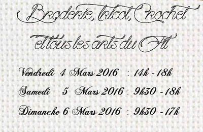 Salon du fil @ Théziers, 4-6-7 mars 2016