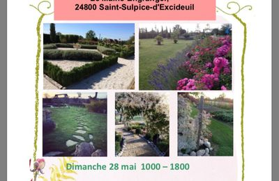 Jardins ouverts/Open gardens