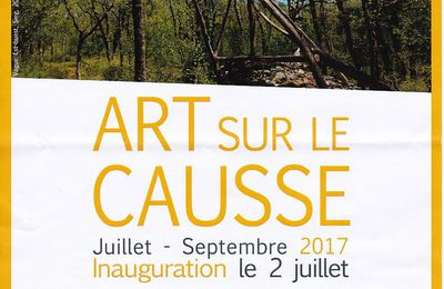 Le land Art du Causse de l'Isle version 2017