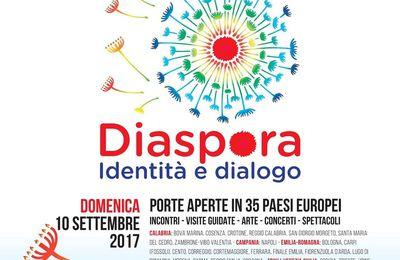 Giornata Europea della Cultura Ebraica (18^ ed.). Palermo città capofila. Le manifestazioni dal 5 al 10 settembre 2017