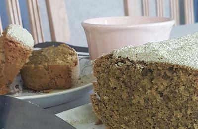 Cake amandine ultra léger au thé Matha