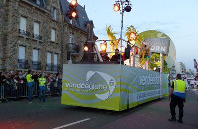 Défilé de la remise des trophées du Vendée Globe : Le Char Cap Horn