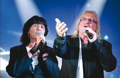 Claude et Marylou en concert à Angles (Vendée)