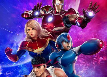 Mon test sur Marvel vs capcom