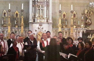Bessans : deux chorales en concert