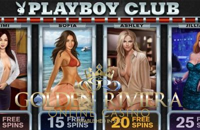 La machine à sous Playboy désormais disponible pour Android sur Golden Riviera Mobile Casino