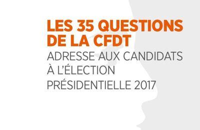 [Adresse] la CFDT interpelle les candidats à la présidentielle