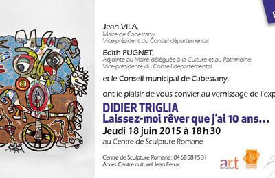 VERNISSAGE LE 18 JUIN !!!