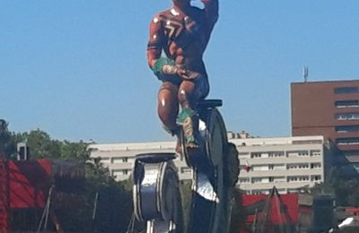 Totems du Carnaval de Rio